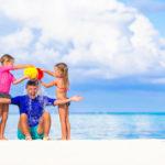 Familien-Strandtag